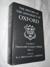 History of the University of Oxford in the Nineteenth Century, for sale