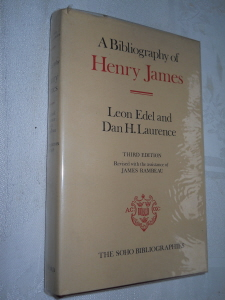 Bibliography of Henry James, Third Edition, for sale