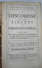 Taylor, Jeremy  A Discourse on the Liberty of Prophesying