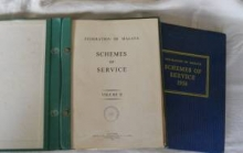 Federation of Malaya Schemes of Service 1956