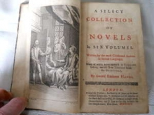 Collection of Novels, 1722