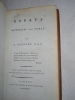George Gregory Essays, 1788, including two essays on slavery